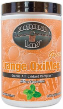Orange OxiMega - Greens Antioxidant Complex